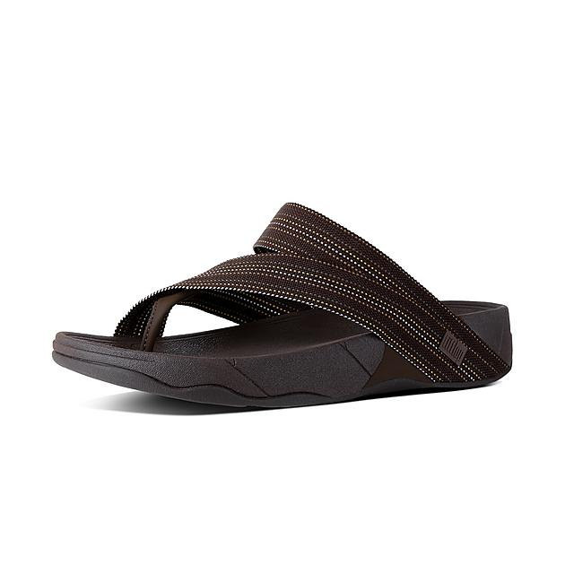 a22e024485d5 Fitflop™ Men s Sling Textile Toe-Thongs Chocolate
