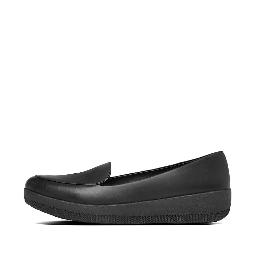 Lézard De Chaussures Noir FitFlop™ Sneakerloafer UK4.5 Black vEho2d6J