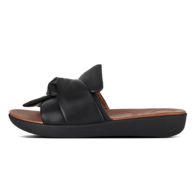 aeeb1388e Women's SOLA Leather Slides