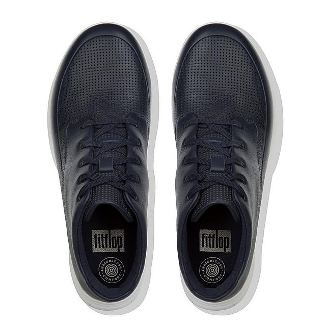 6ed88f27899a7 SPORTY-POP. Men s Leather High-Top Sneakers