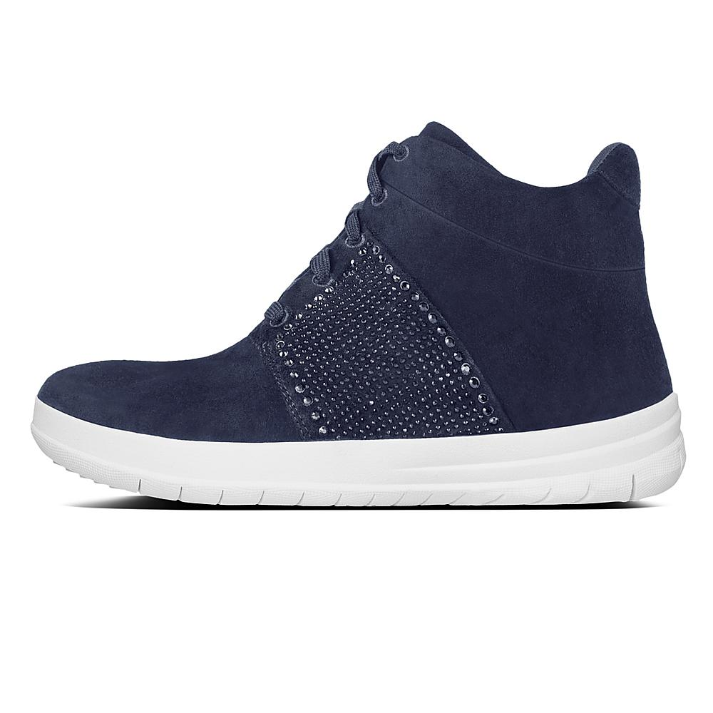 Fitflop Sporty-Pop X Crystal Sneaker Colour: Midnight Navy, Size: UK7