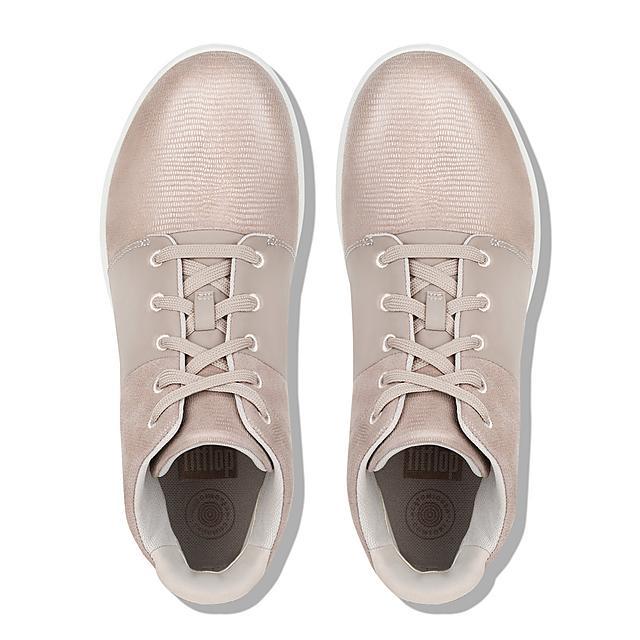 c04b969fa2ce SPORTY-POP X. Lizard-Print High-Top Sneakers