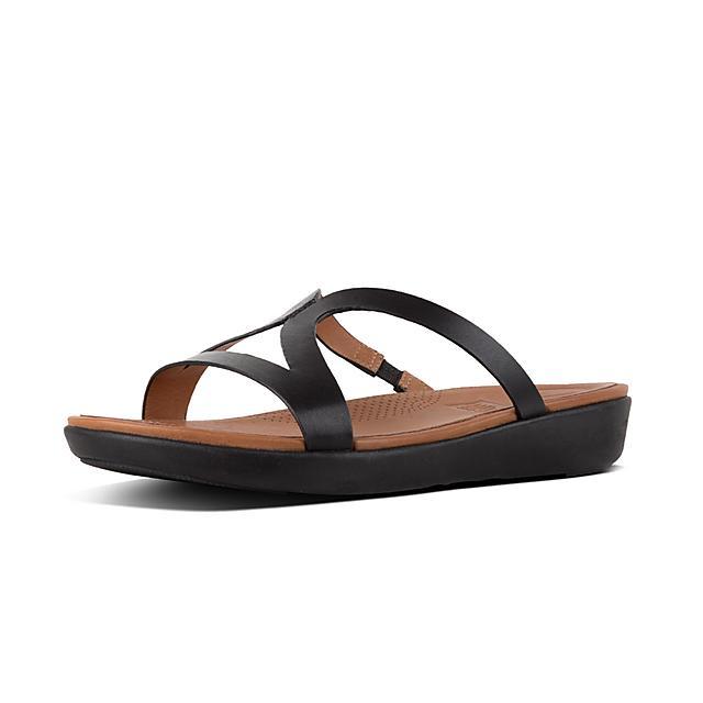 31a6bb96cb2 Women s STRATA Leather Slides