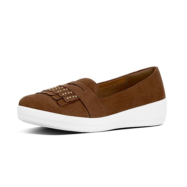 be7e6f2d708 Fitflop™ Women s Sneakerloafer Suede Loafers Tan