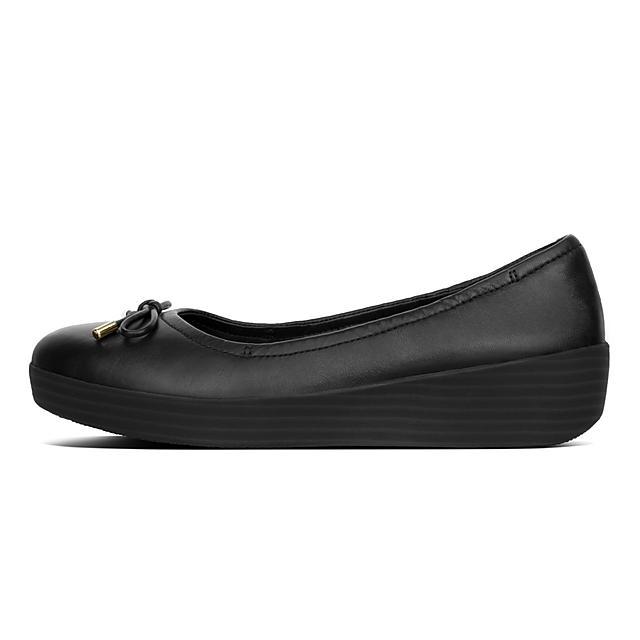 8e7db61a83ff Women s SUPERBENDY Leather Ballet Flats