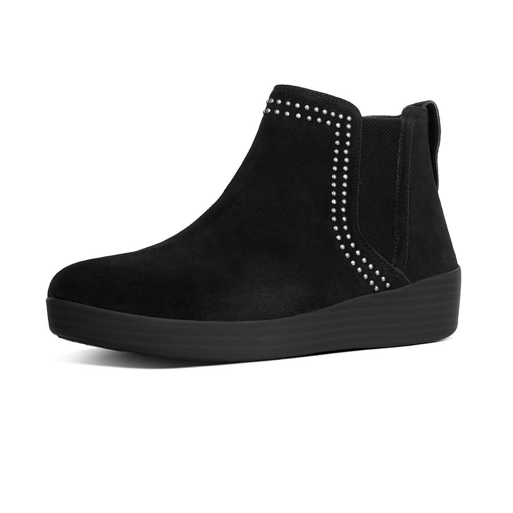 Womens Superchelsea Suede Boot w/ Studs