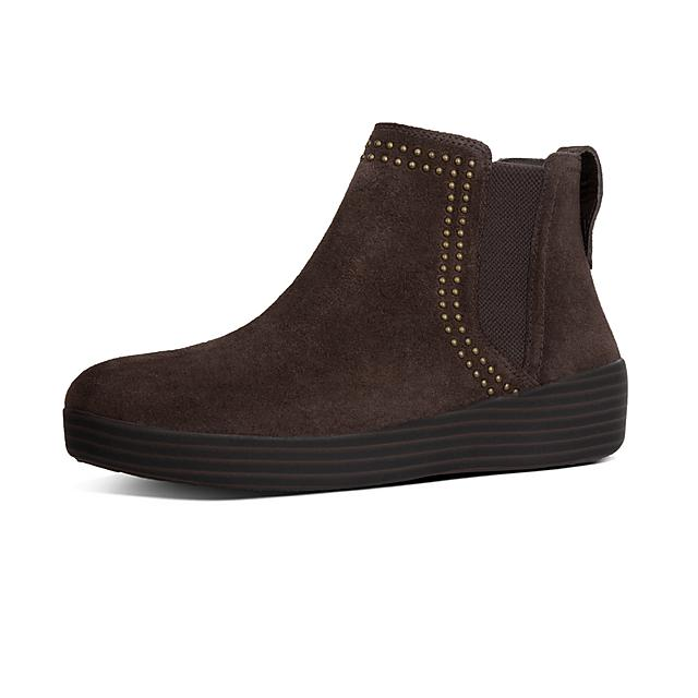 14634943ba888 SUPERCHELSEA. Studded Suede Boots