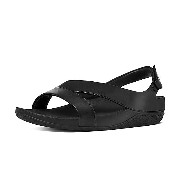 4a1ca71186fa RINGER. Superlight Leather Back-Strap Sandals