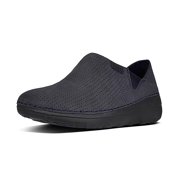 ce9ca3dc8be Fitflop™ Women s Superloafer Nubuck Loafers Supernavy