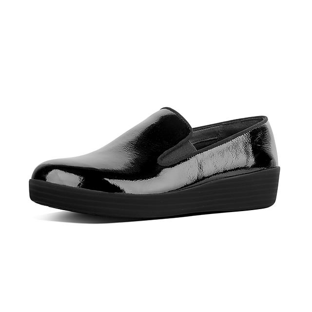 a954ae94a798 SUPERSKATE. Crinkle Patent Leather Loafers