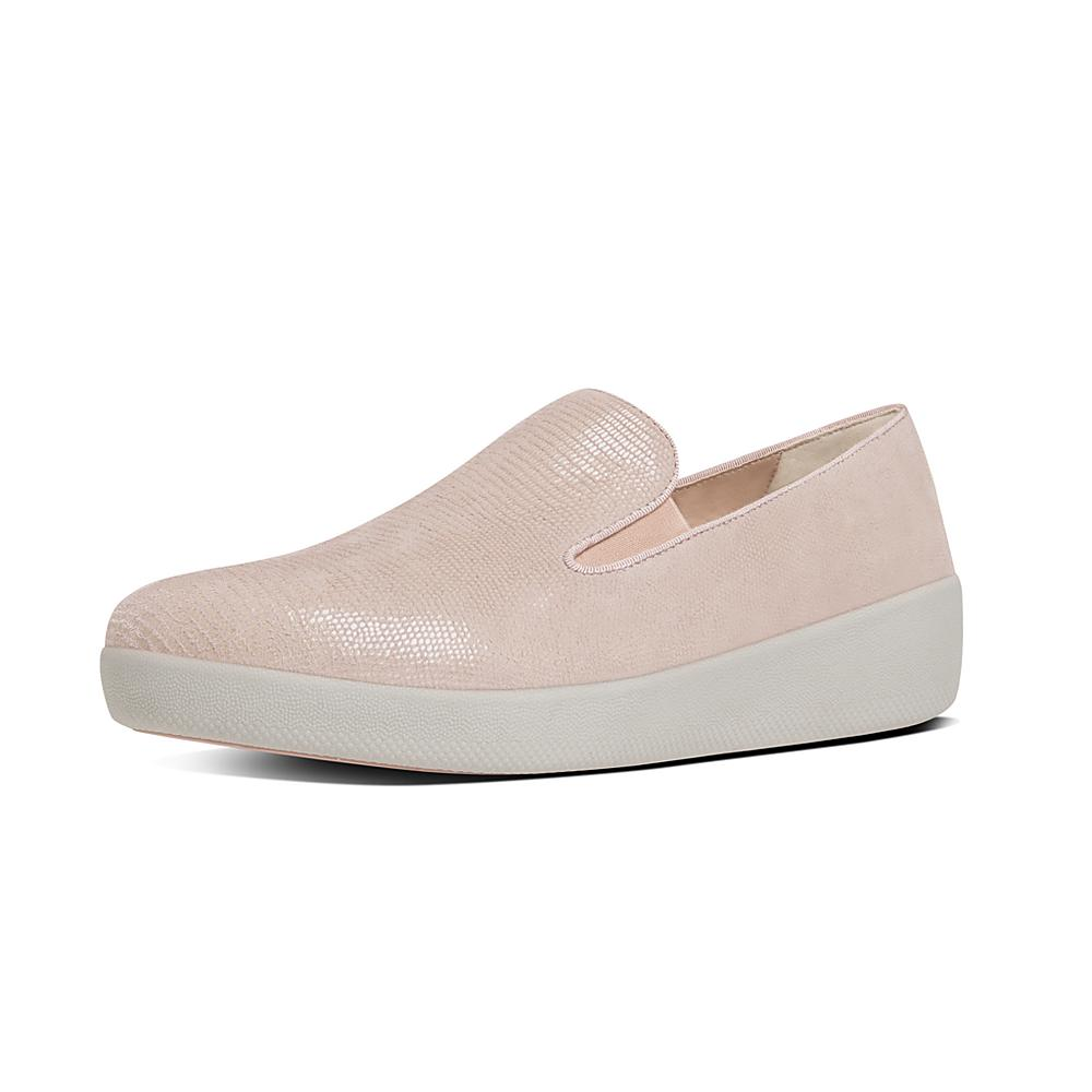 Suede superskate trainers