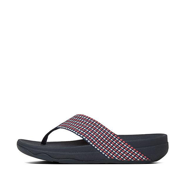 a72b13cb63c Fitflop™ Women s Surfa Textile Toe-Thongs Midnight Navy