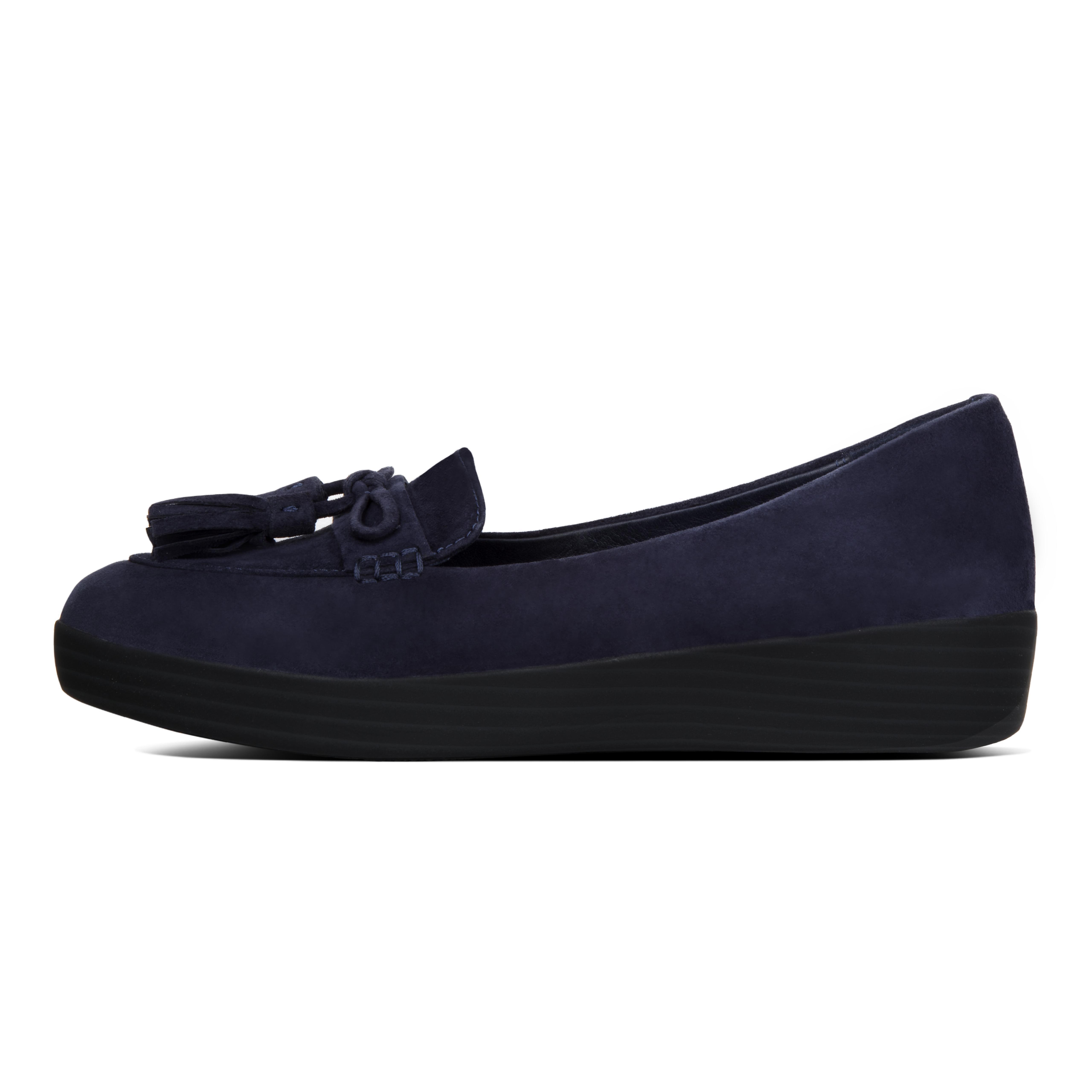 DIMAOL Chaussures Femmes de Réconfort Printemps Été Toison Talon Talons Bout Pointu Pour Partie & Robe de Soirée Rouge Vert Noir Gris Vert Fringey Sneakerloafer - Midnight Navy Patent US9.5-10/EU41/UK7.5-8/CN42  US6.5-7/EU37/UK4 Black i3o6Ui
