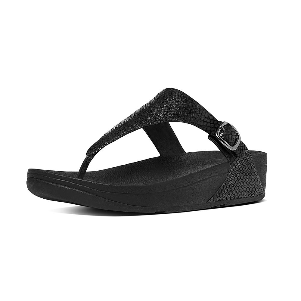 FitFlop The Skinny Snake Black