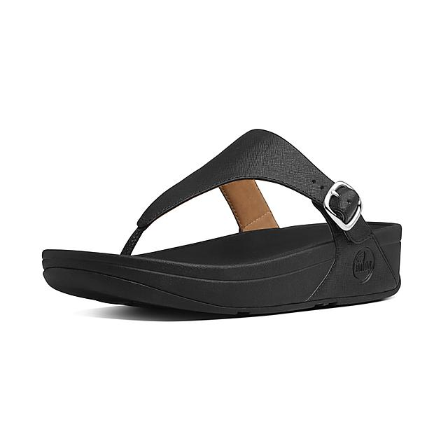 4ec12a84258a7 Women's THE-SKINNY Faux-Leather Toe-Thongs