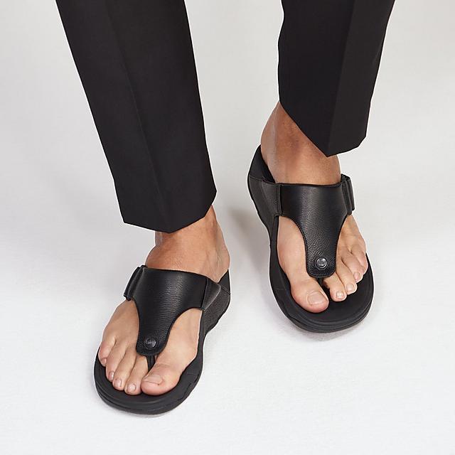 3b50cab96bb6 TRAKK II. Men s Leather Toe-Thongs