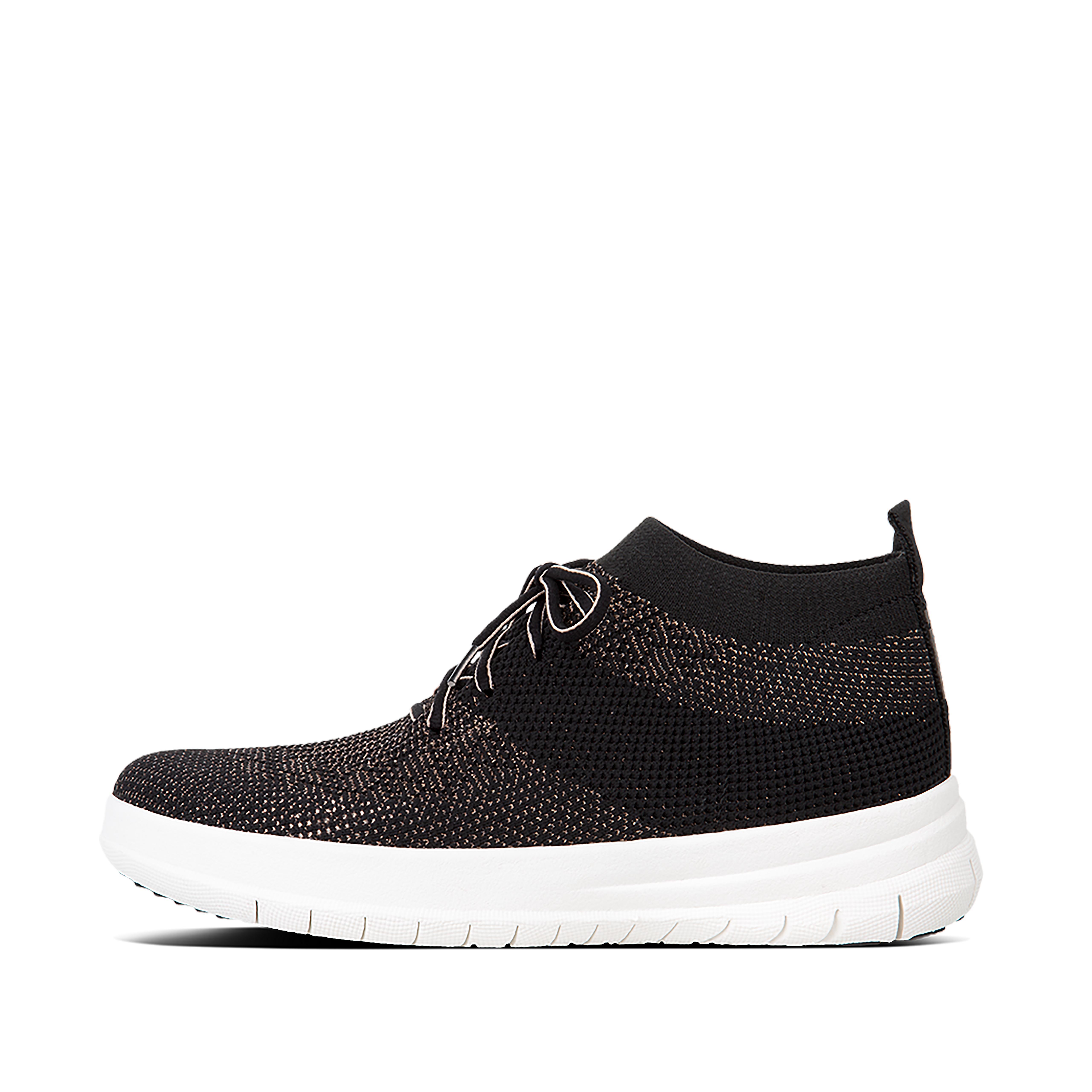 Uberknit slip on high top sneaker black bronze metallic j30 501?v=20