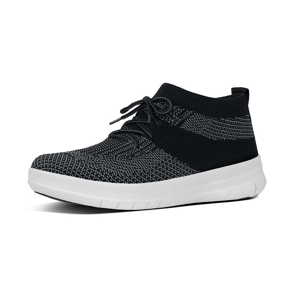 Women Uberknit Slip-on High Sneaker Hi-Top Trainers FitFlop
