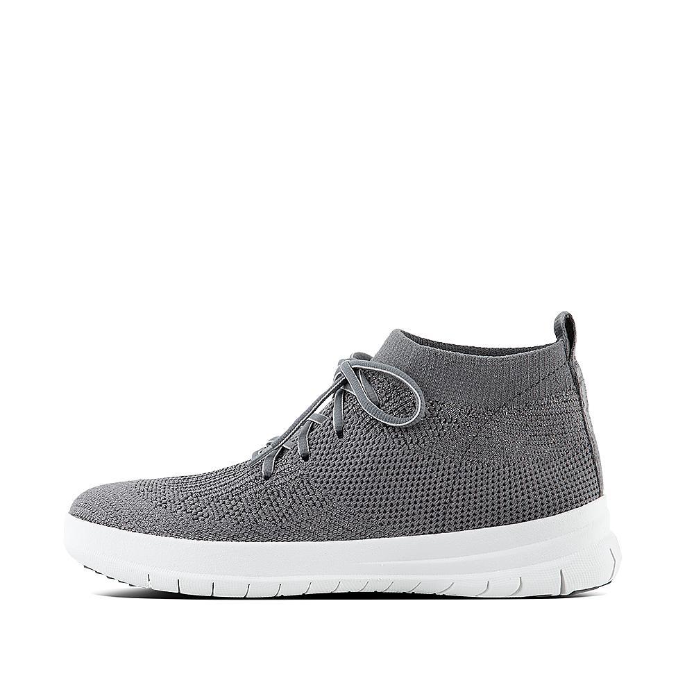 Uberknit slip on high top sneaker charcoal metallic pewter j30 551?v=6