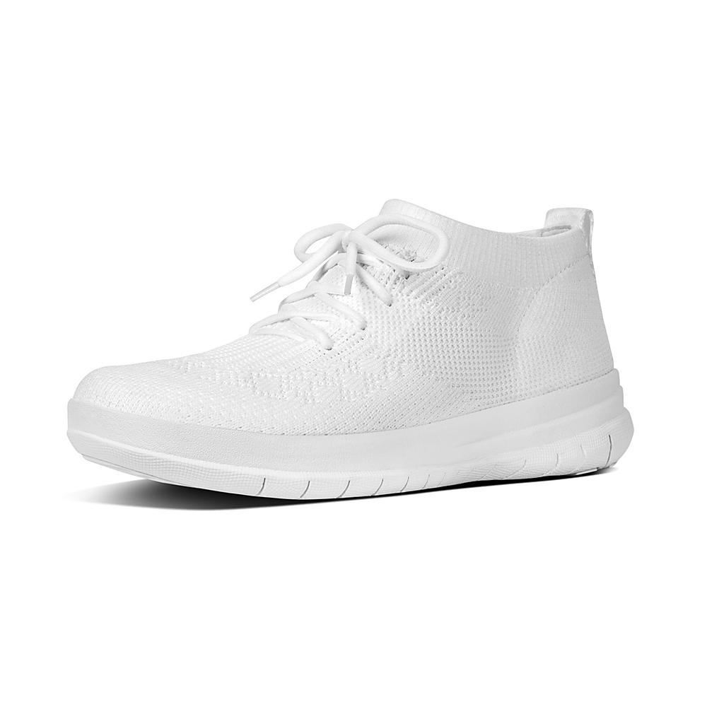Uberknit Slip-on High Top, Sneaker Donna, Bianco (Urban White 194), 38 EU FitFlop
