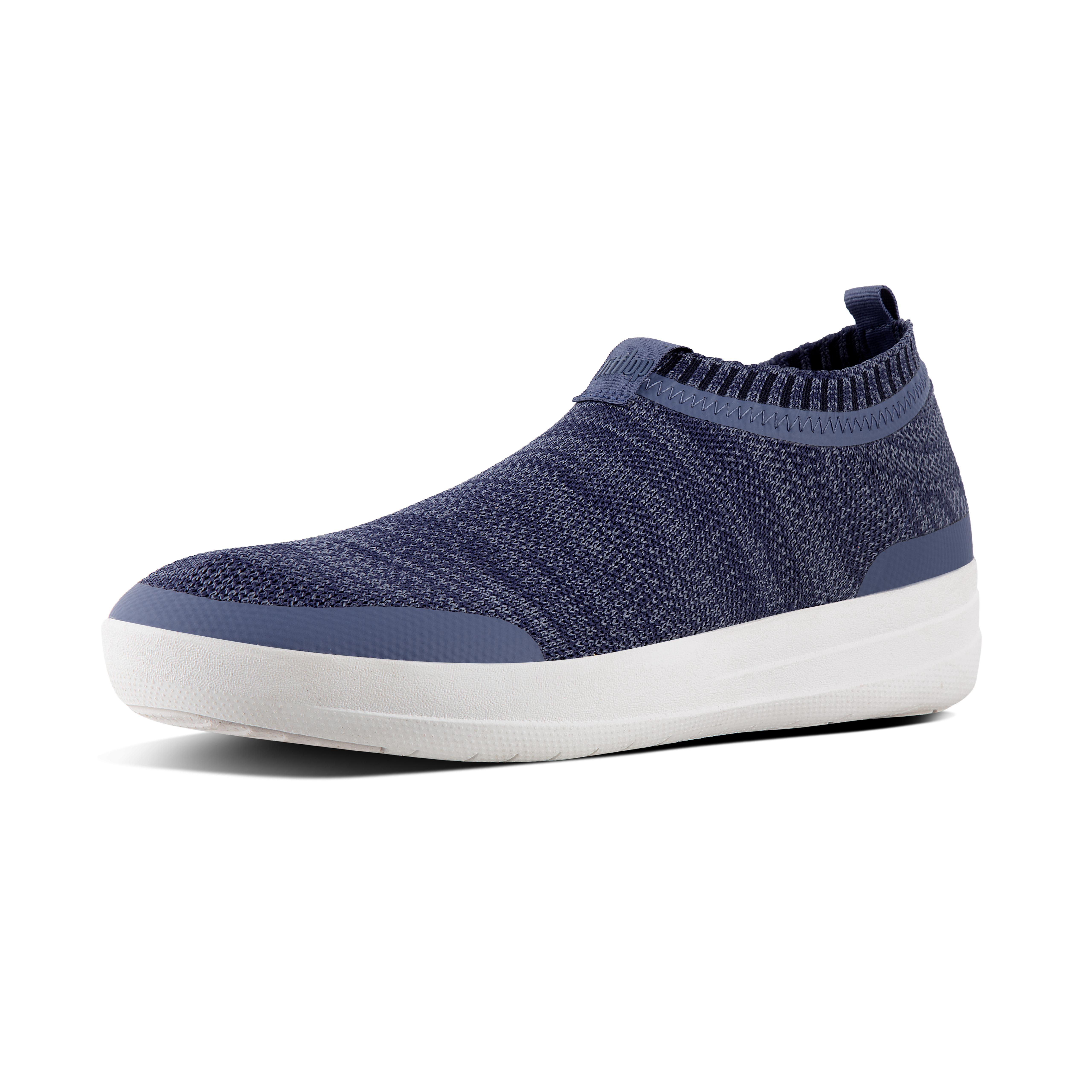 Uberknit slip on sneakers indian blue powder blue l30 564