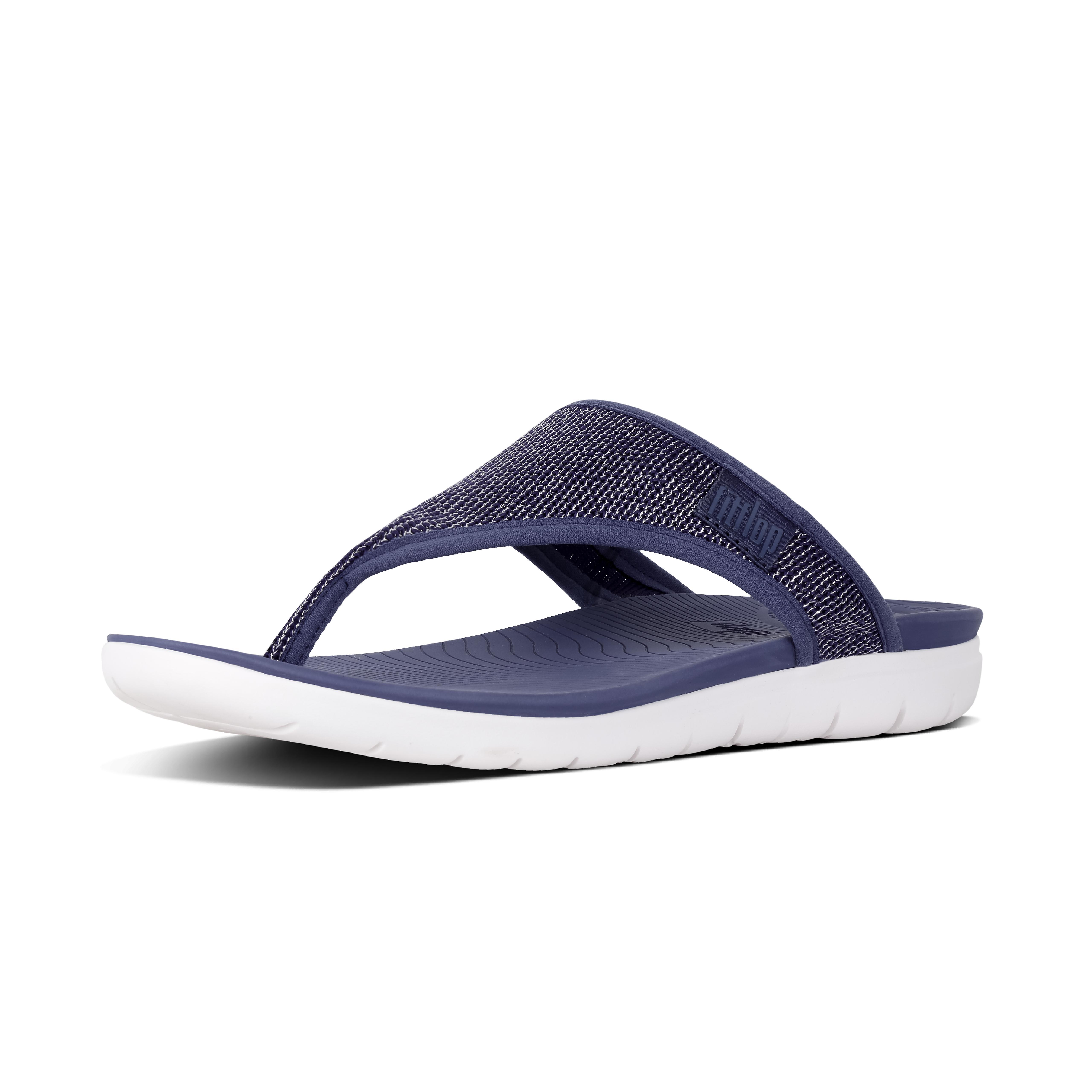 Uberknit toe thong sandals indian blue metallic m46 613?v=3