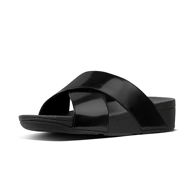 4c2c7f82be225 Women s LULU Faux-Leather Slides