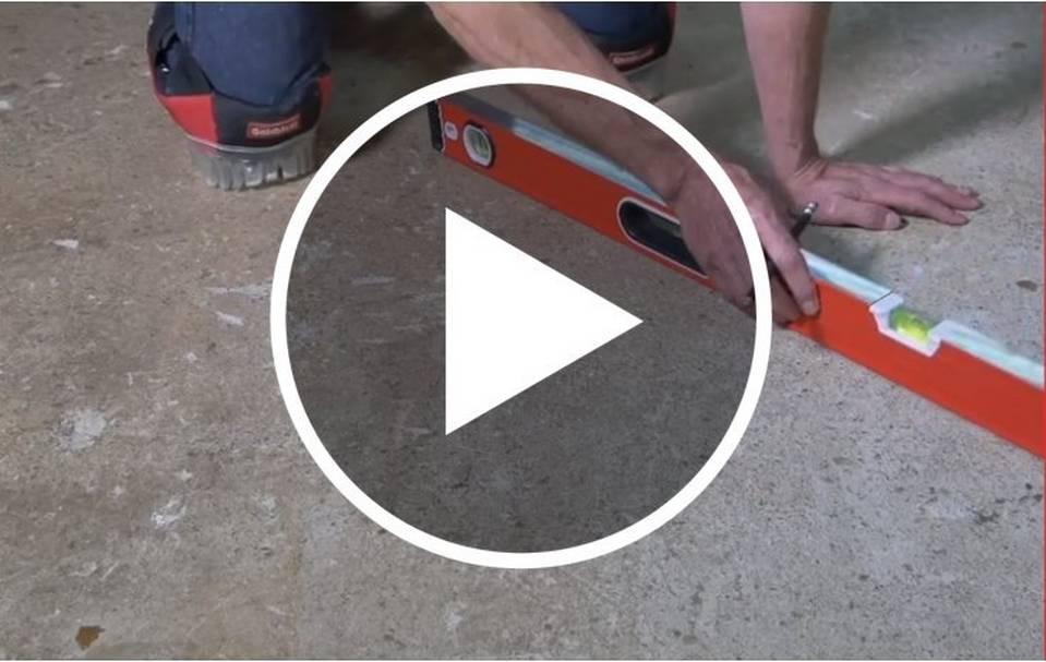 Prep Cement Subfloor for Tile