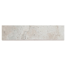 Tarsus Gray Polished Porcelain Bullnose