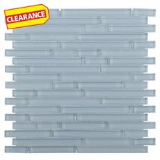 Clearance! Pure Spa Mix Stick Glass Mosaic
