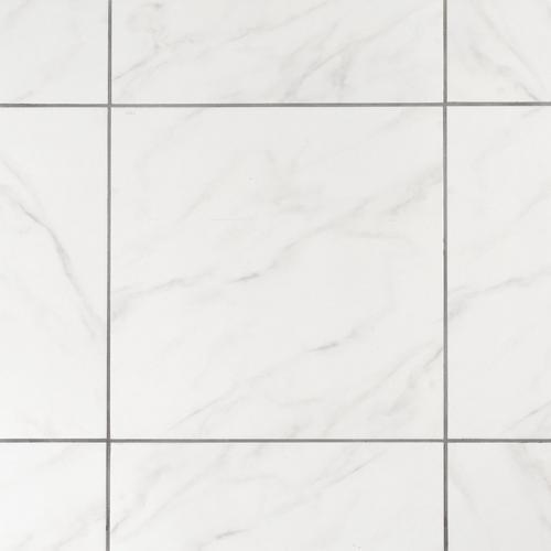 Silver White Ceramic Tile - 21 x 21 - 100011352 | Floor and Decor