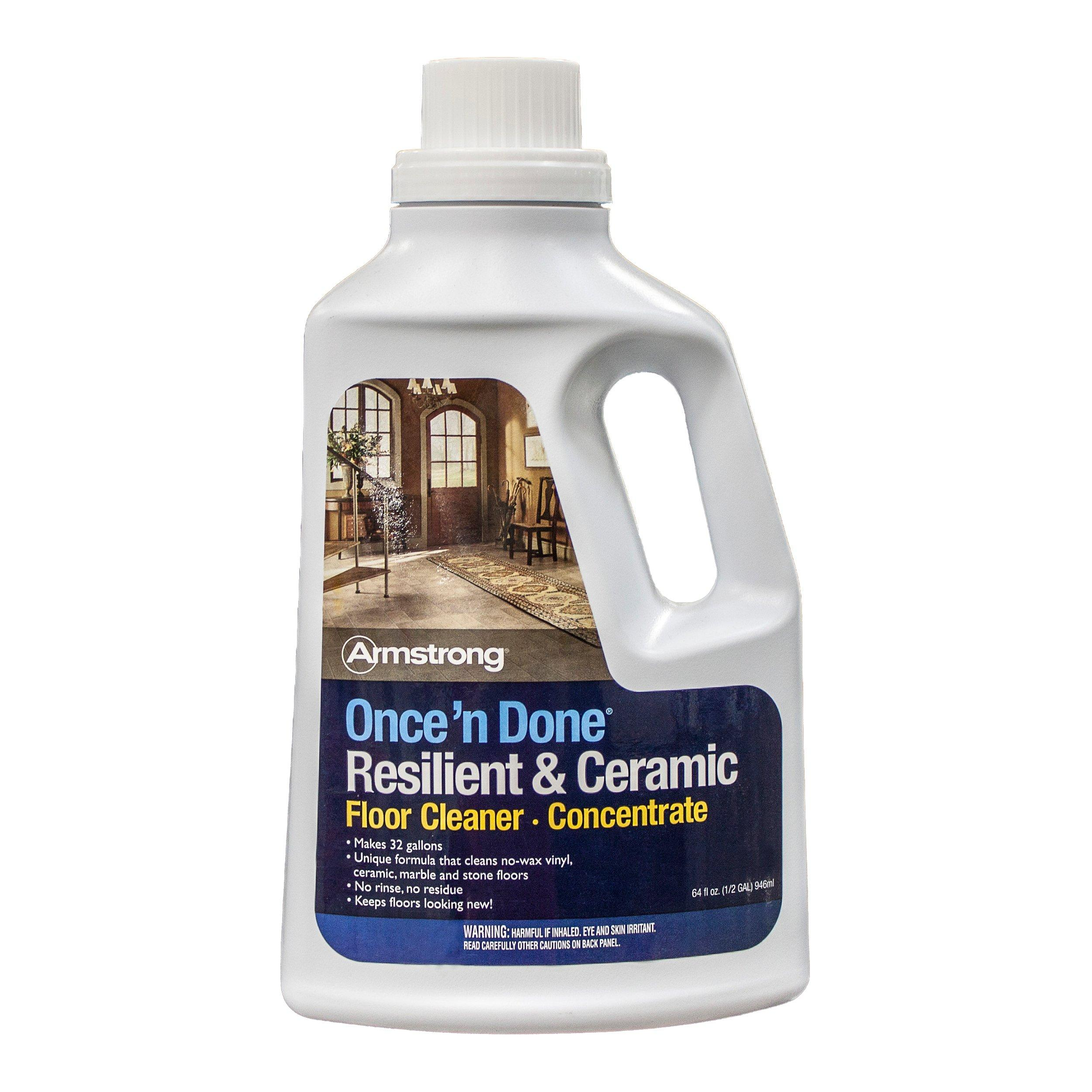 Amazing Armstrong Once N Done Floor Cleaner Concentrate   1/2gal.   100012251 |  Floor And Decor