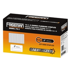 Freeman 15.5 Gauge Flooring Staple 2in.