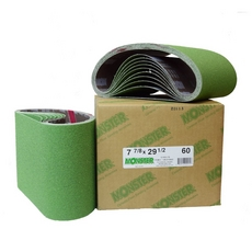 100 Grit Monster Ceramic Cloth Belts