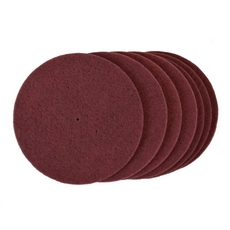 Maroon Surface Preparation Thin Pads
