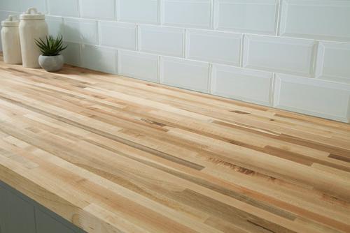 american maple butcher block countertop 12ft. - 144in. x 25in