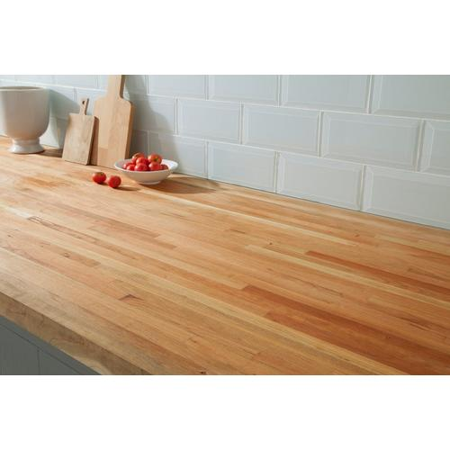 American Cherry Butcher Block Countertop 12ft 144in X 25in 100020668 Floor And Decor