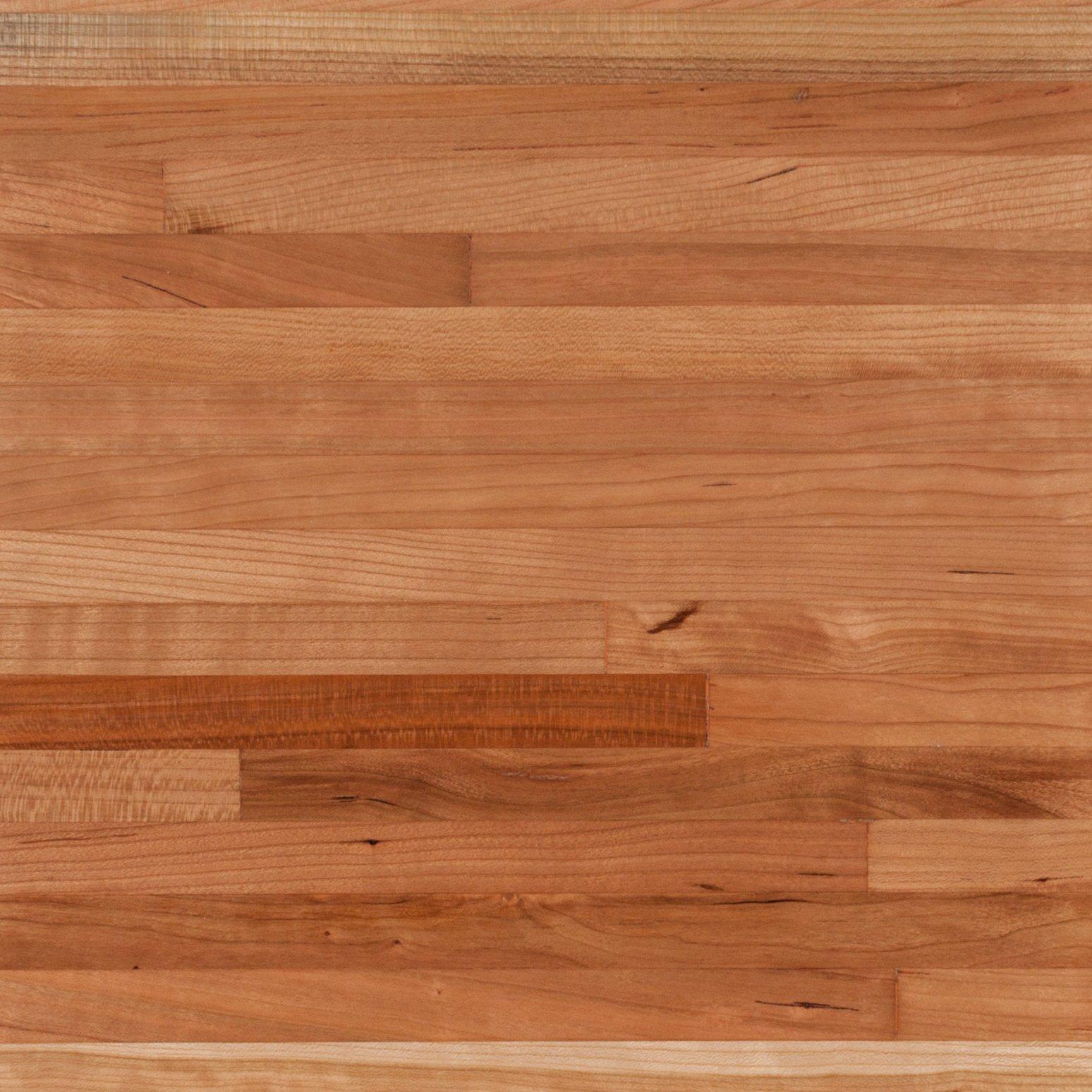 American Cherry Butcher Block Countertop 12ft.   144in. X 25in.   100020668    Floor And Decor