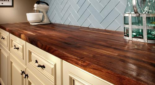 American Walnut Butcher Block Countertop 12ft 144in X 25in 100020684 Floor And Decor