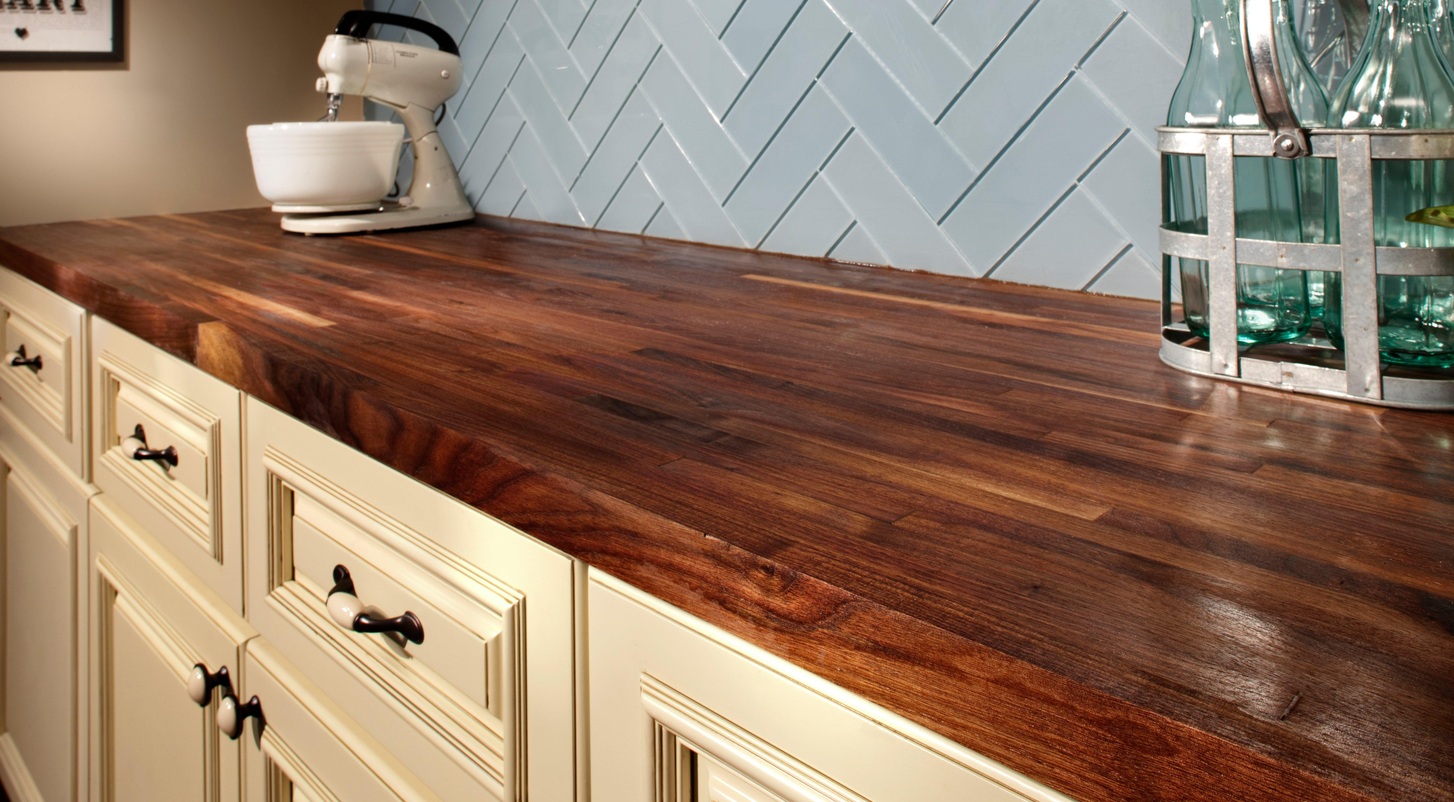 Keep Butcher Block Countertops From Drying Or Cracking With A Wood  Conditioner. The Howard Butcher Block Conditioner Is Great For Hardwoods  And Bamboo, ...