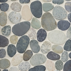 Kayan River Pebble Stone Mosaic