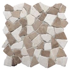 Solo River Pebble Stone Mosaic