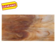 Clearance! New Art Desert Sunset Glass Tile