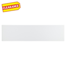Clearance! Pure Snow Glass Tile