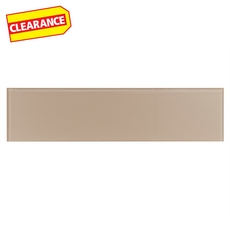 Clearance! Pure Tan Glass Tile