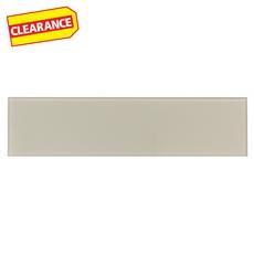 Clearance! Pure Vanilla Glass Tile