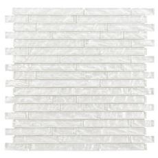 Dream Cloud Linear Glass Mosaic
