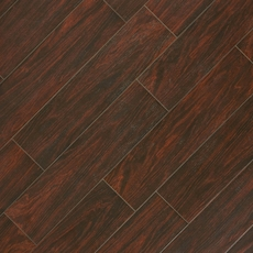 Vintage Walnut Wood Plank Porcelain Tile