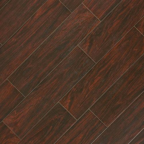 Vintage Walnut Wood Plank Porcelain Tile 6 X 24 100033505