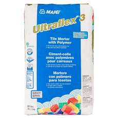 Mapei UltraFlex-3 Gray Mortar